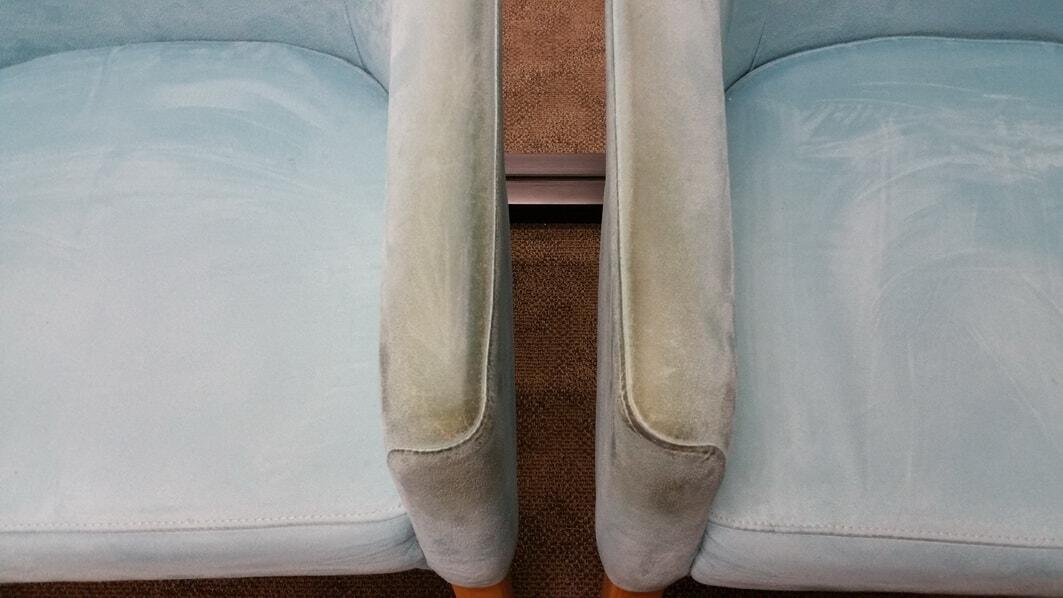 Professional upholstery cleaning in Perth Example